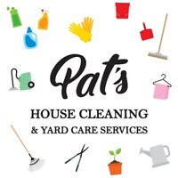 Pat's House Cleaning And Yard Care Service