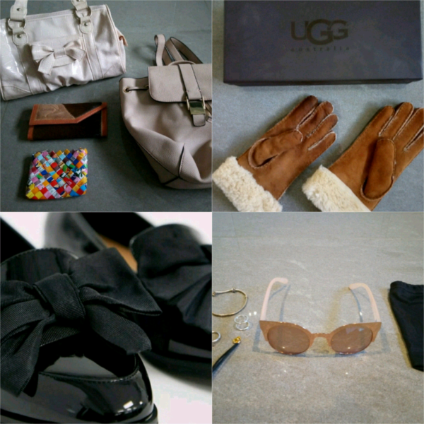 UGG gloves, handbags/purse bundle, Asos shoes, Asos sunglasses £5-£10 for sale  Leigh-on-Sea, Essex