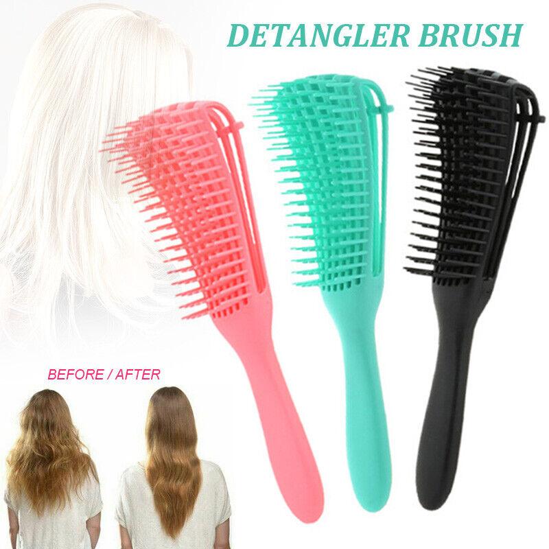 Detangling Brush Hair Combing Brush Detangle With Wet Dry Cu