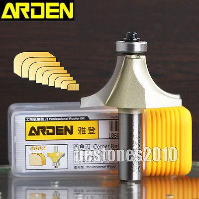 Arden Round Over Router Bit 14516-14 Shank Corner Round Cutter 51614 Bit