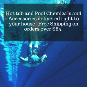 Hot Tub & Pool Chemicals delivered right to you!