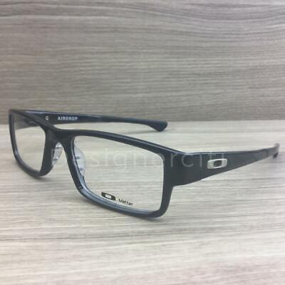 Oakley Airdrop Eyeglasses Black Ink OX8046-0257 Authentic 57mm