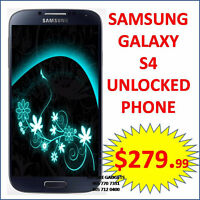 ◈◈Samsung Galaxy S4 i337 Unlocked Blue color smart phone◈◈