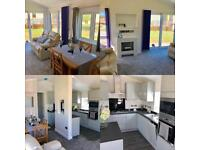 Lodge Log Cabin For Sale Twin Unit Lake District Cumbria Lancashire