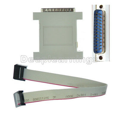 Jtag Download Cable Xilinx Lpt Parallel Programmer Cpld Fpga Xc2c64 Xc9572 Db25