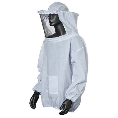 Durable Beekeeping Jacket Veil Smock Supplies Bee Keeping Hat Sleeve Suit
