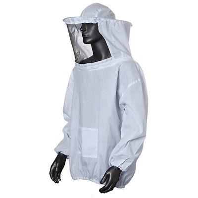 Durable Beekeeping Jacket Veil Smock Supplies Bee Keeping Hat Sleeve Suit