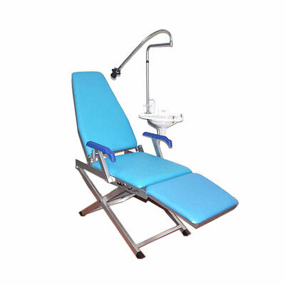 Portable Folding Dental Chair Unit Water Supply System Cuspidor Tray Spittoon Us