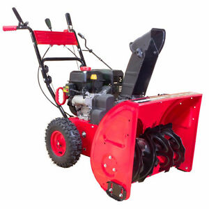 28'' cut snow blower well maintained