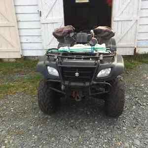 2007 Suzuki atv St. John's Newfoundland image 2