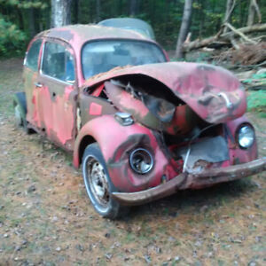 VW Beetle for sale for Parts