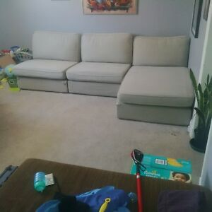 ikea Kivik sectional couch