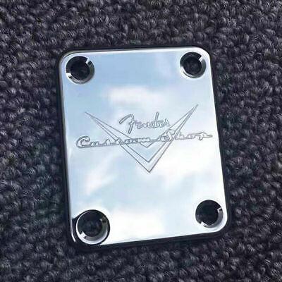 Halsplatte Custom Shop für Telecaster oder Stratocaster in Gold
