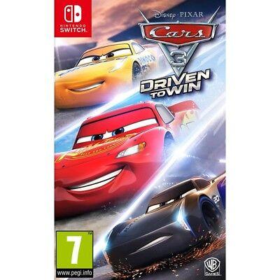 Nintendo Switch Disney Pixar Cars 3 Driven To Win New Sealed