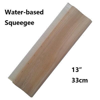 """13"""" Silk Screen Printing Squeegee Ink Scraper 33cm Scratch Board  Waterbase- 65"""
