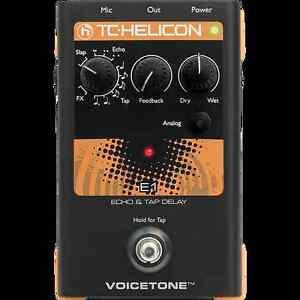 TC Helicon VoiceTone E1 Echo/Delay Pedal