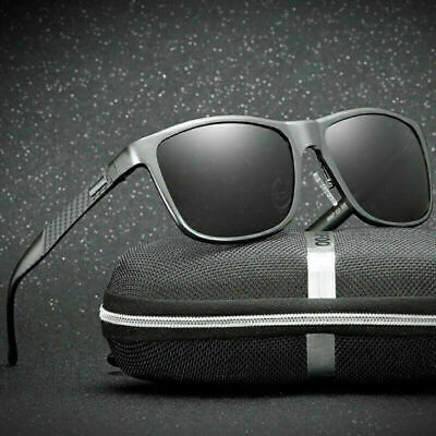 Herren Sonnenbrille Polarisierte Aluminium Pilot UV400 Retro Radfahren Skibrille