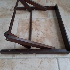 Vintage desk easel . Also selling art materials