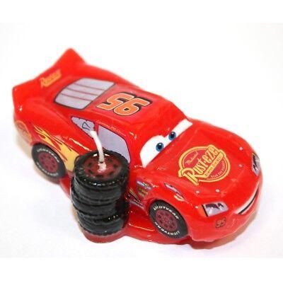 CARS Lightning McQueen - 3D Novelty Birthday Cake Candle Candles DeKora ()