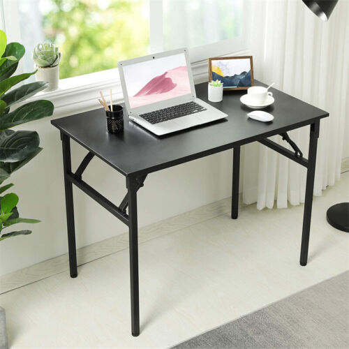 Small Folding Computer Desk For Home Office Laptop Writing Study Table Workbench