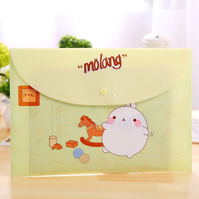 Files Folder Portable Cute Document A4 Storage Office Student School Supplies