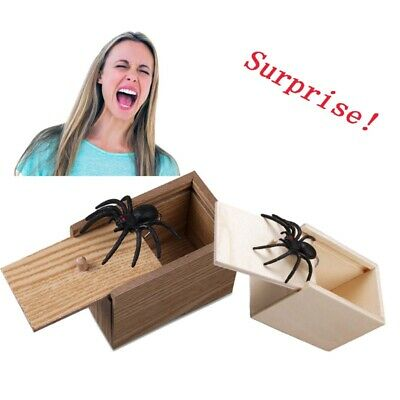 Halloween Box Scare (Halloween Scare Box Prank Spider Hidden in Case Trick Play Joke Horror Gag)
