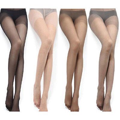 4 Colors Sexy Full Foot Women Thin Sheer Tights Stocking Nylon Panties Pantyhose