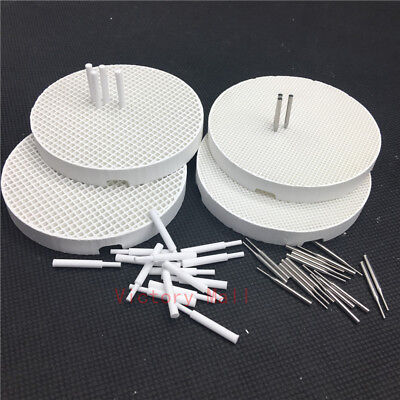 Dental Lab Honeycomb Firing Trays And Zirconia Ceramic Pins And Metal Pins
