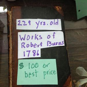 Works of Robert Burns(poetry) written in 1786 Gatineau Ottawa / Gatineau Area image 3