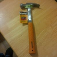 BRAND NEW STANLEY BOSTITCH 20 OZ.RIP CLAW HAMMER