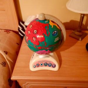 Globe terrestre Vtech