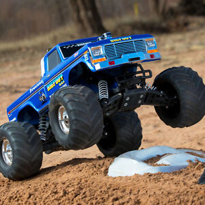 1/10 Bigfoot Classic 2WD Monster Truck RTR, Blue New IN BOX
