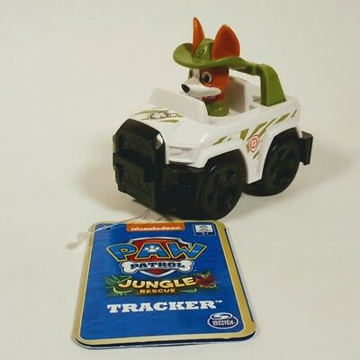 Paw Patrol Rescue Racers Jungle Rescue Tracker's Jungle Crui
