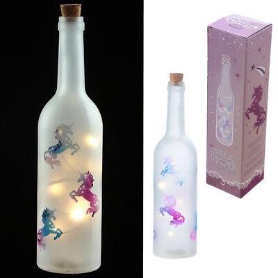 Led Light Up Decorative Unicorn bottle Fantasy