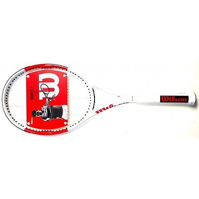 Wilson Six One 95 besaitet Griff L3 4 3//8 tennisschläger Tennis Racquet