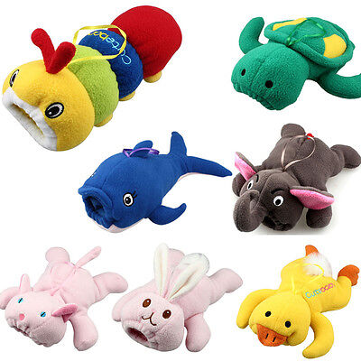 Baby Milk Bottle Plush Pouch Soft Covers Keep Warm Holders 500ml Cartoon Style