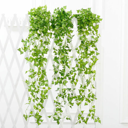 Artificial Fake Silk Flower Vine Hanging Garland Plant Home Party Wedding Decor