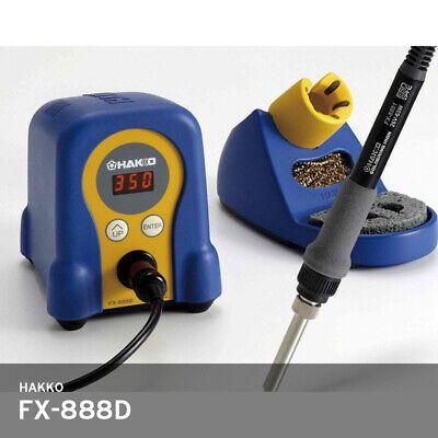 Hakko Fx-888d Digital Temperature Soldering Station Iron 220v 392896f Track