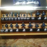 20 Router Bits