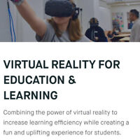 VR Vision Inc : Education & Learning | www.vrvisiongroup.com