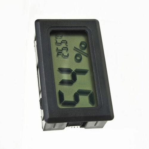 Gauge Humidity Meter Digital LCD Monitor Thermometer Hygrometer Temperature new