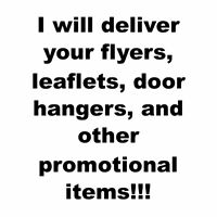 $0.10/flyer - Flyer Delivery Service!!!