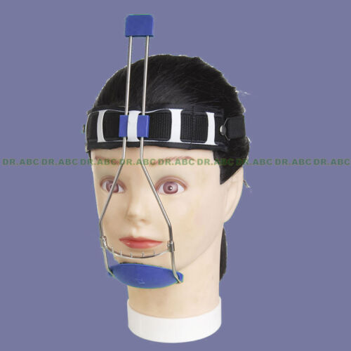 Dental headgear Orthodontic Double pole adjustable Reverse- Pull headgear
