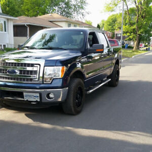 2014 Ford f150 ecoboost blue a vendre