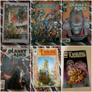 Turok, Planet of the Apes and others Comic book lot