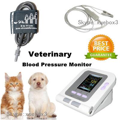 08a-vet Digital Blood Pressure Monitorveterinaryanimal Nibpspo2 Probe