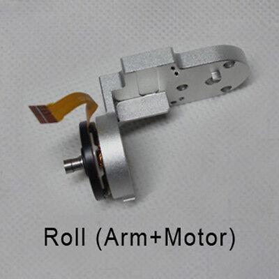 Original For DJI Phantom 3 Standard Drone Gimbal Yaw/R/P Arm+Motor Repair Part