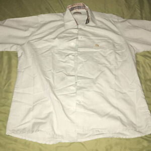 BURBERRY LONDON BUTTON UP SHORT SLEEVE