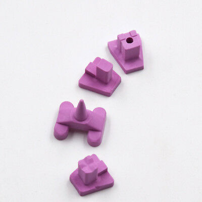 4 Pcs Dental Lab Holding Furnace Porcelain Oven Tray Ceramic Firing Pegs 4 Type