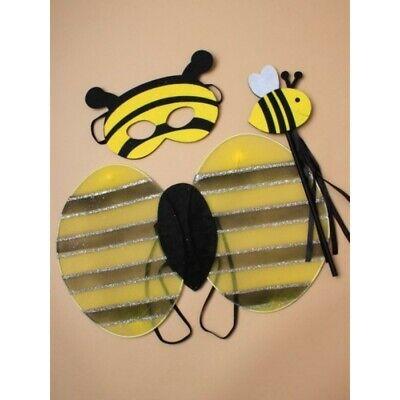 Kinder Bumble Bee Flügel und Maske und Zauberstab - Bee Flügel Kostüm